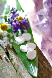 Schüsslersalze und Globuli mit Kamille
